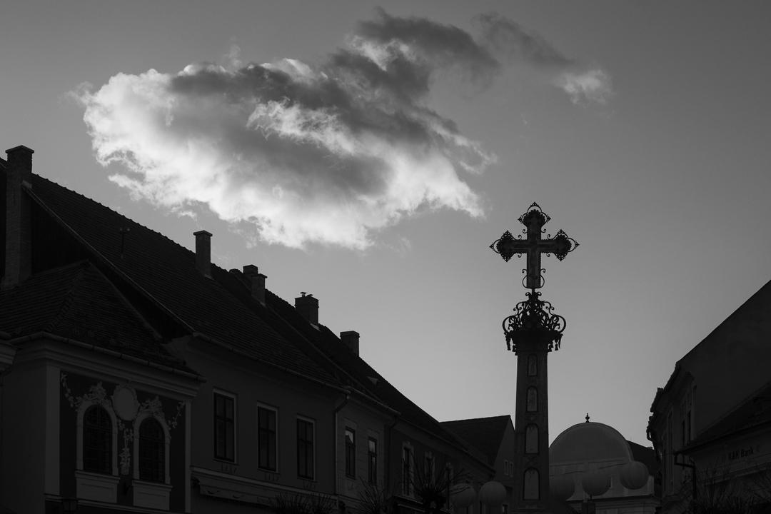 Szentendre városfotó, Fő tér, Pestiskereszt